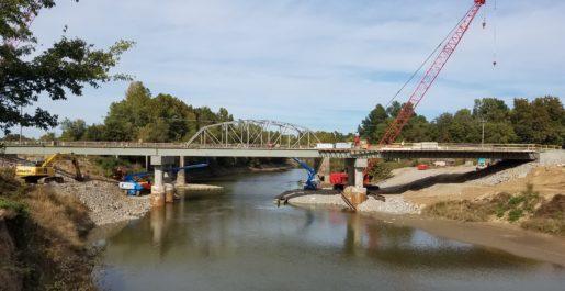 Route 53 Bridge Over St. Francis River