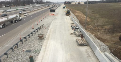 Route I-70 (Route K to TR Hughes Blvd)