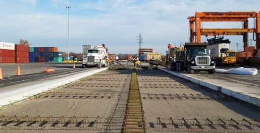 BNSF Lindenwood Yard Pavement Repair